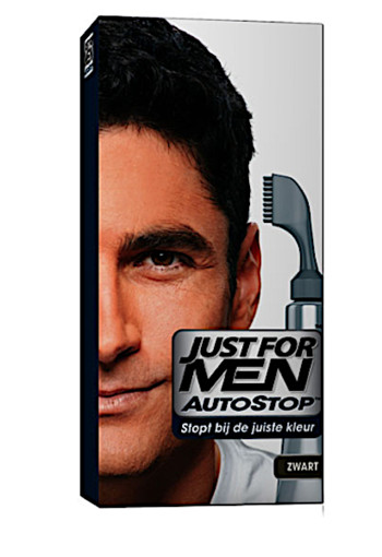 Just for men Au­to­stop zwart  36 g