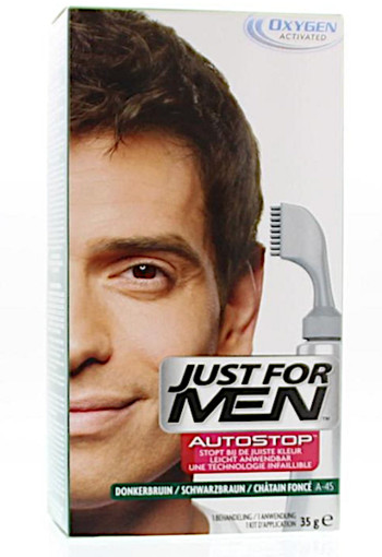 Just For Men Autostop Donkerbruin - Haarverf