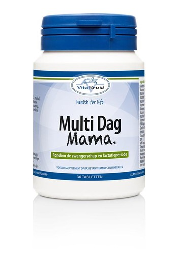 Vitakruid Multi dag mama (30 tabletten)