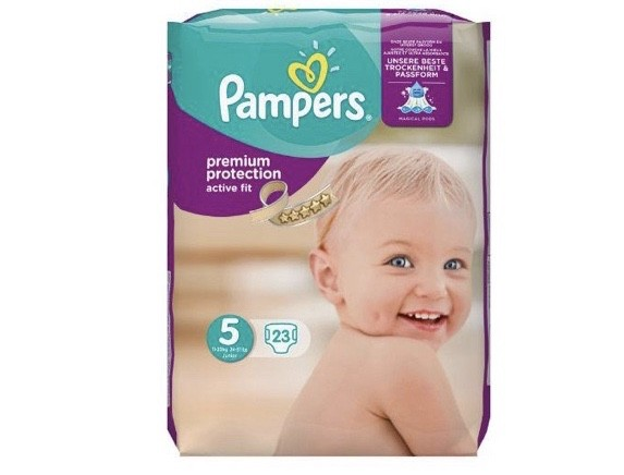 Pampers Active Fit Junior Midpack Maat 5 23st