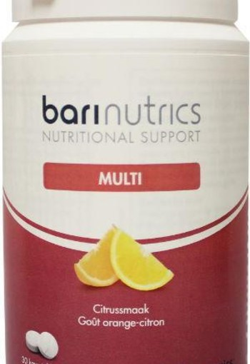 Barinutrics Multi citrus (30 tabletten)