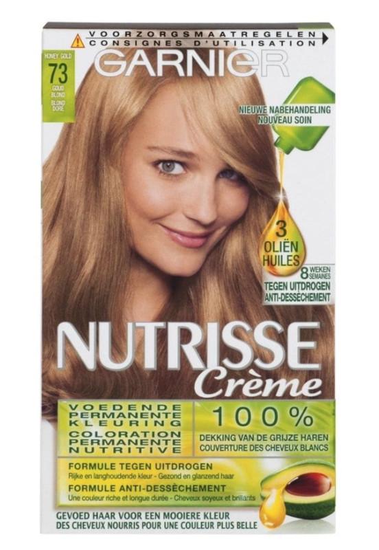 ffafd420eb7 Garnier Nutrisse Crème 73 Goudblond Permanente Haarkleuring