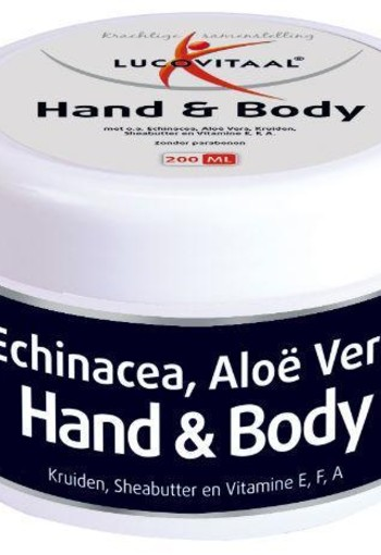 Lucovitaal Hand and body creme (200 ml)