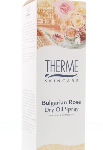 Therme Dry oil Bulgarian rose (125 ml)