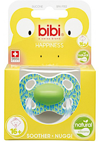 Bibi speen Happiness Natural Wild Baby 16+