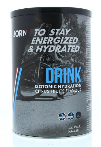 Born Drink isotonic hydration (400 gram)
