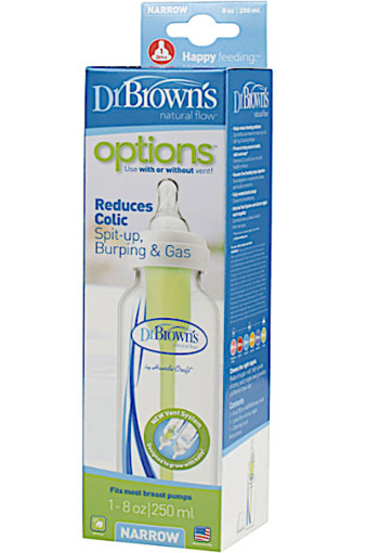 Dr. Brown's Fles small bpa-vrij (250 ml)