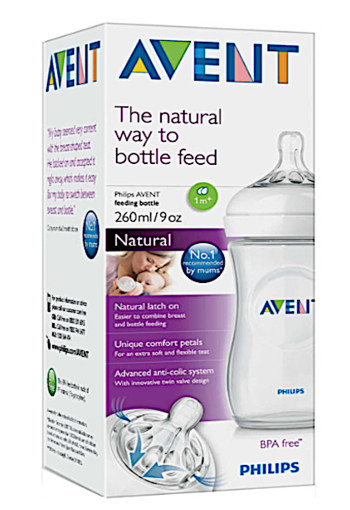 Ave­nt Na­tu­ral fles 260 ml