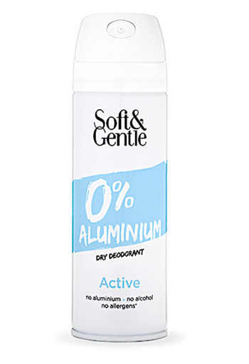 Soft & Gentle 0% Aluminium Active 150ml