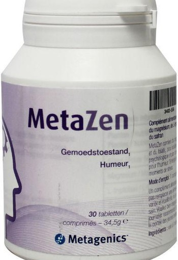 Metagenics Metazen (30 tabletten)
