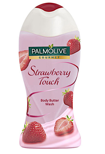 Palm­o­li­ve Gour­met straw­ber­ry touch dou­che­melk 250 ml
