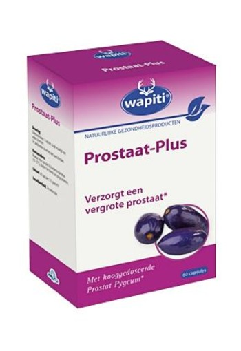 Wapiti Prostaat plus (60 capsules)