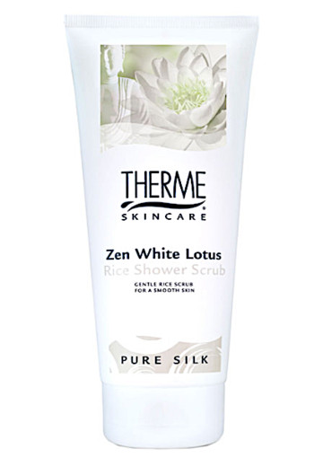 Ther­me Zen whi­te lo­tus ri­ce shower scrub  200 ml