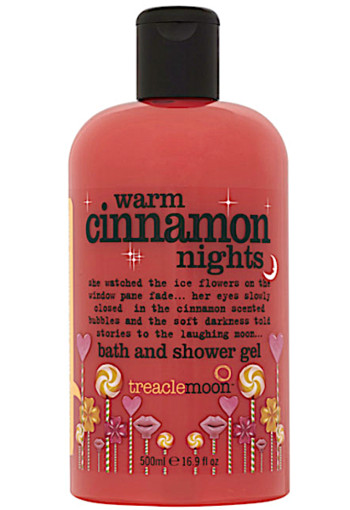 Tre­a­cle­moon Warm cin­na­mon nights bath and shower gel  500 ml