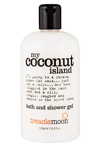 Tre­a­cle­moon My co­conut is­land bath and shower gel  500 ml