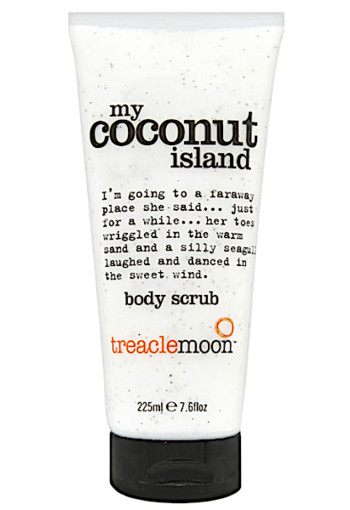 Tre­a­cle­moon My co­conut is­land bo­dy scrub  225 ml
