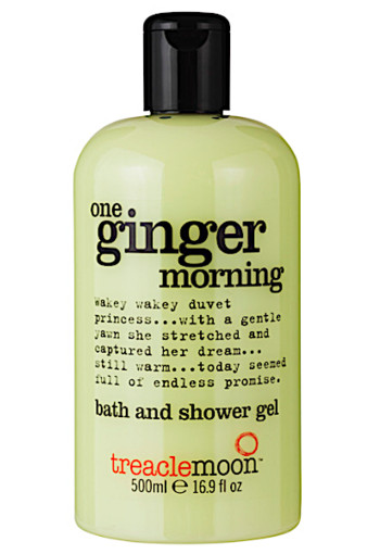 Tre­a­cle­moon One gin­ger mor­ning bath and shower gel  500 ml