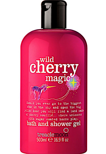 Tre­a­cle­moon Wild cher­ry ma­gic uni­corn bath & shower  500 ml