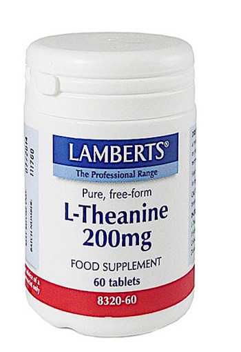 Lamberts L-theanine 200 Mg 60tb