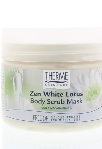 Therme Body scrub mask zen white lotus (350 ml)