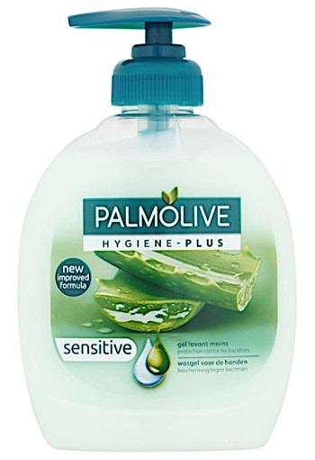 Palm­o­li­ve Hy­gie­ne-plus sen­si­ti­ve hand­zeep 300 ml
