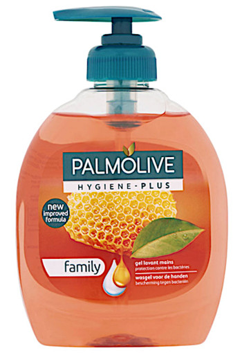 Palm­o­li­ve Hy­gie­ne-plus fa­mi­ly hand­zeep  300 ml