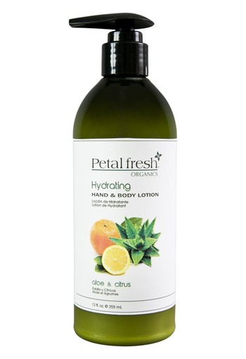 Petal Fresh Hand & body lotion aloe & citrus (355 ml)