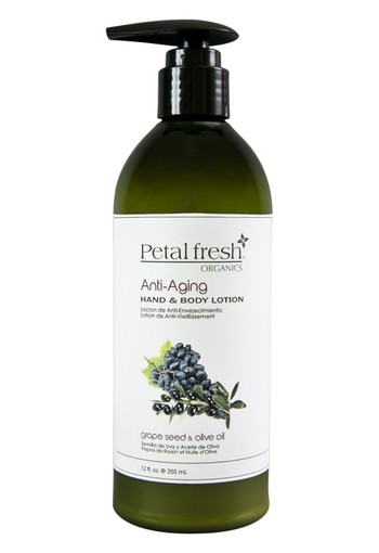Petal Fresh Hand & body lotion grape seed & olive oil (355 ml)