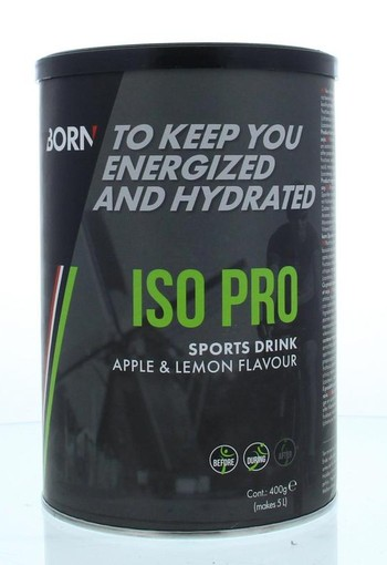 Born Iso Pro apple/lemon (400 gram)