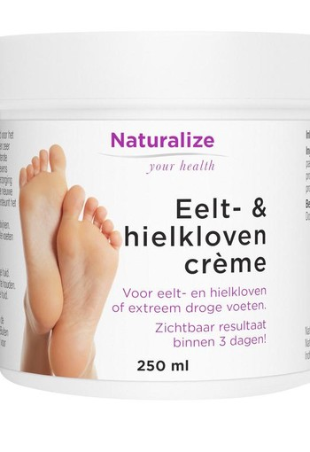 Naturalize Eelt en hielklovencreme (250 ml)