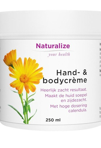 Naturalize Hand en bodycreme (250 ml)