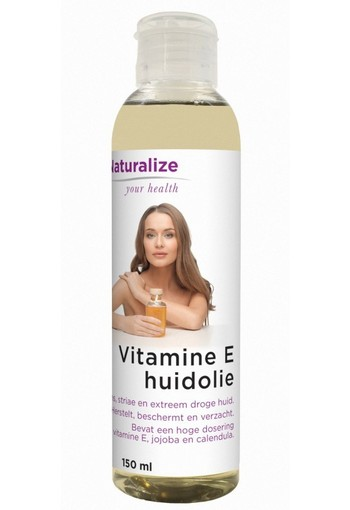 Naturalize Vitamine E huidolie (150 ml)