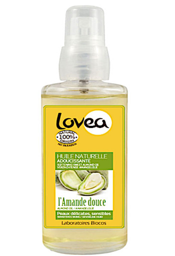 Lo­vea Sweet al­mond oil 100% na­tu­ral 100 ml