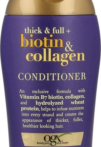 OGX Conditioner thick and full biotin & collagen (89 ml)