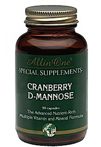 All In One Super Cranberry & D-mannose 90caps