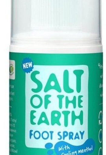 Salt Ofthe Earth Natuurlijke deodorant foot spray (100 ml)