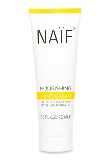 Naif Nourishing hand cream (75 ml)