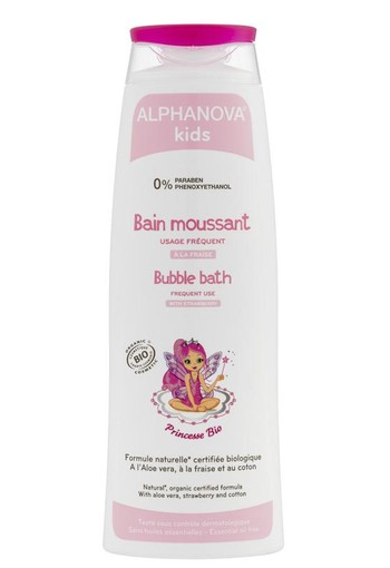 Alphanova Kids Bio bubble bath princess (250 ml)