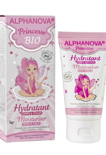 Alphanova Kids Bio moisturizing creme princess (50 ml)