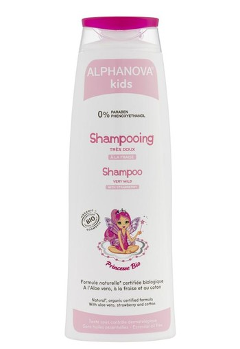 Alphanova Kids Bio kids shampoo princess (250 ml)