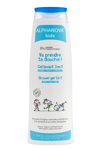 Alphanova Kids Bio douche gel (250 ml)