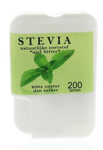 Beautylin Stevia niet bitter dispenser (200 tabletten)