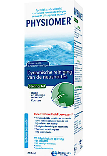 Physiomer Strong Jet - Neusspray bij verkoudheid 210 ml