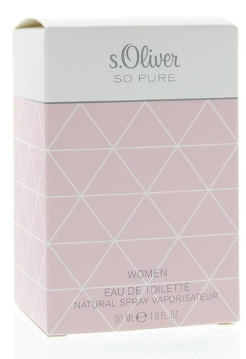 S Oliver Woman so pure eau de toilette (30 ml)