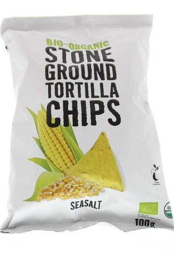 Trafo Chips tortilla seasalt bio (100 gram)