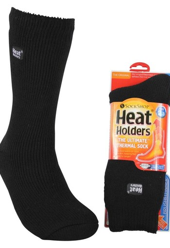 Heat Holders Ladies original socks 4-8 black (1 paar)