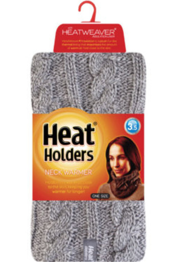 Heat Holders Ladies neck warmer light grey (1 stuks)