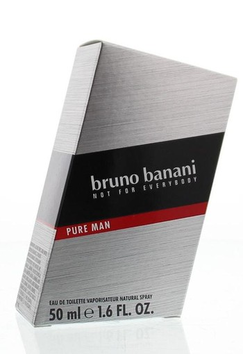 Bruno Banani Pure man eau de toilette (50 ml)