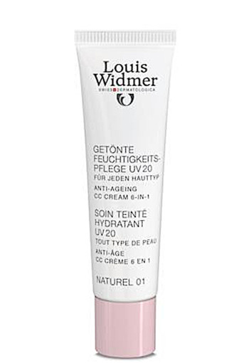Louis Widmer CC Cream Naturel 01 Zonder Parfum CC Cream - 30 ml - Dagcrème