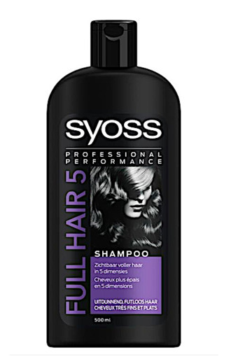 Syoss Full Hair 5 shampoo (500 ml)